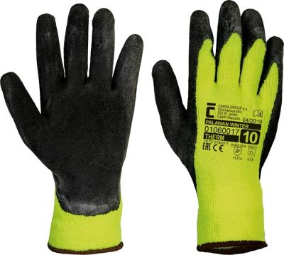 Zimní pracovní rukavice - pracovní rukavice PALAWAN WINTER - 1515