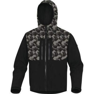 Dárky pro muže - bunda softshell HORTEN 2 s kapucí - O203605