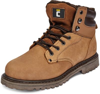 Zateplená zimní pracovní obuv - pracovní obuv BK HONEY ANKLE WINTER - 3008
