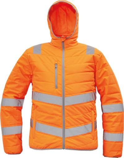 Pracovní bundy - pracovní bunda zimní MONTROSE HV - O203522