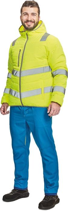 Pracovní bunda zimní MONTROSE HV - O203522