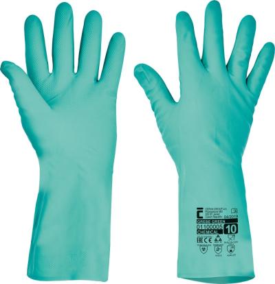 Pracovní rukavice Červa - pracovní rukavice GREBE - 1357