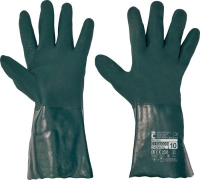 Bavlněné pracovní rukavice - pracovní rukavice PETREL - 1065