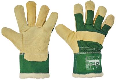 Zimní pracovní rukavice - pracovní rukavice SHAG vel.12 - 1835