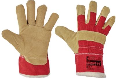 Zimní pracovní rukavice - pracovní rukavice SHAG vel. 9 - 11 - 1012