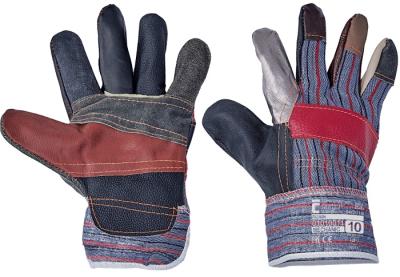Kombinované pracovní rukavice - pracovní rukavice ROBIN - 1004