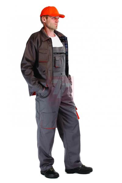 Pracovní oděvy - poslední kusy - pracovní bunda DESMAN WINTER flanel - V000061
