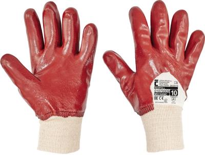 Pracovní rukavice Červa - pracovní rukavice REDPOL - 1061