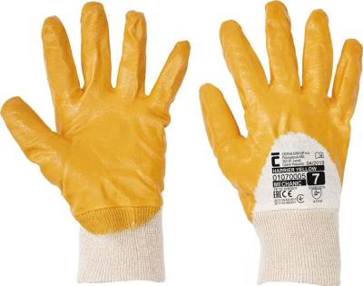 pracovní rukavice HARRIER YELLOW - 1426