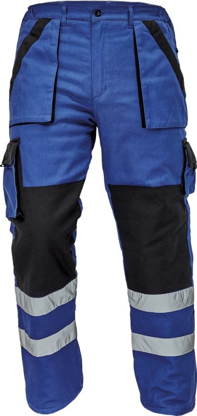 Pracovní montérky MAX - pracovní kalhoty pas MAX WINTER REFLEX - V000069