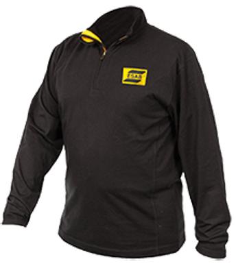Ohnivzdorné - nehořlavé pracovní oděvy a pomůcky - pracovní svářecí triko s dl.rukávem ESAB FR JERSEY - O203624