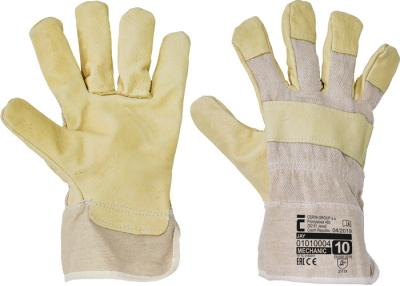 Kombinované pracovní rukavice - pracovní rukavice JAY - 1125
