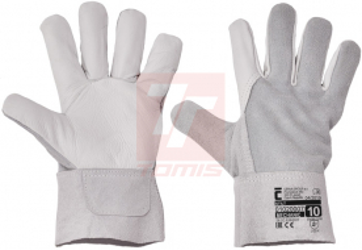 Kožené pracovní rukavice - pracovní rukavice  STILT - 1017