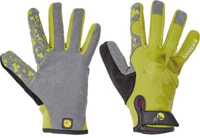 Dámské pracovní rukavice - pracovní rukavice CRISTATA zelené - 1404