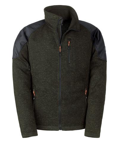 Outdoorové bundy - pracovní fleecová bunda KAPRIOL HUNTER - O203150