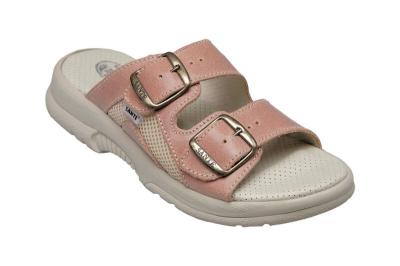 pracovní pantofel dámský SANTÉ lososový - 3665
