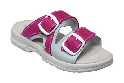 Zdravotní pracovní obuv (bílá) - Pracovní pantofel dámský SANTÉ - B300472