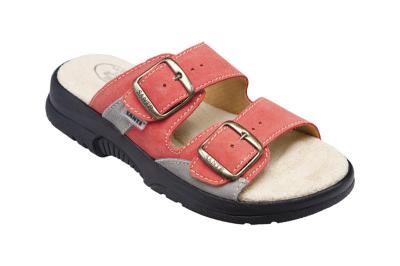 Pracovní galoše a pantofle - pracovní pantofel dámský SANTÉ oranžový - B300854