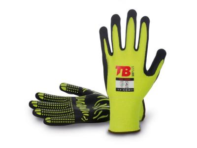Pracovní rukavice - pracovní rukavice Tomas Bodero 700F ZEBRA - R100169