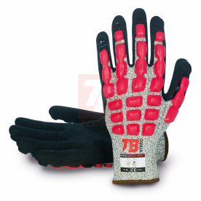 Pracovní rukavice - pracovní rukavice Tomas Bodero 490RMF IMPACT - R100172