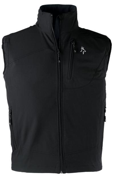 Pracovní oděvy Kapriol - pracovní softshellová vesta KAPRIOL TECH černá - O203891