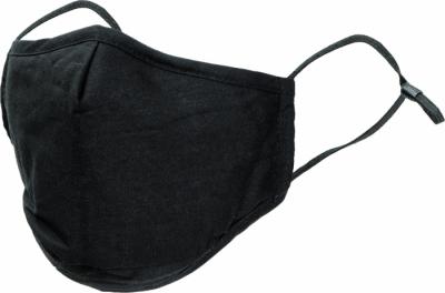 Pratelné roušky - rouška bavlněná POTTS PM2.5 černá - O204020