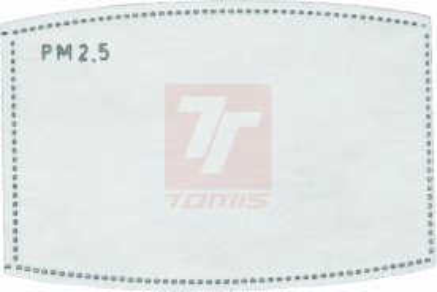 Roušky s vyměnitelným filtrem - náhradní filtr pro roušku POTTS (bal./10ks) - P401147
