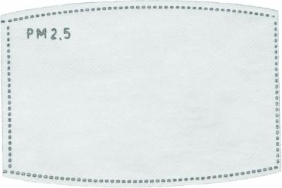 Roušky s vyměnitelným filtrem - náhradní filtr pro roušku POTTS KIDS (bal./10ks) - P401148