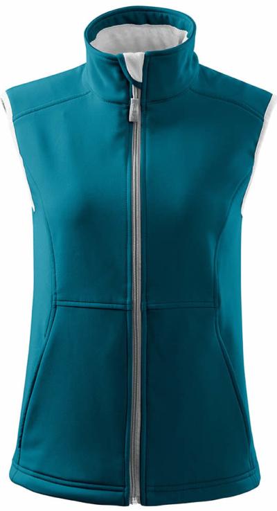 Outdoorové, volnočasové a sportovní oblečení - Dámská vesta softshellová VISION - O204041