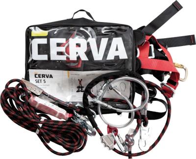 Bezpečnostní postroje - CERVA SET 5 střechy, ocelové konstrukce Lanex - P401158