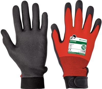 Ochranné pomůcky, oděvy a obuv pro řemeslníky - pracovní rukavice JACDAW - 1268