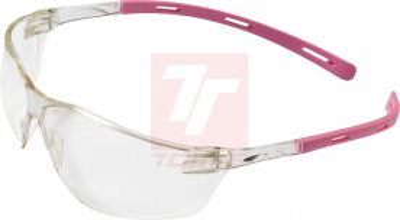 Ochranné pracovní brýle - Ochranné brýle RIGI AS, BlueBlock čiré růž.rám - P400914