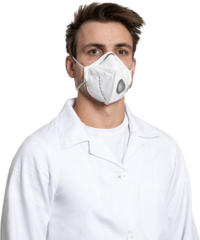 Ochrana dechu - respirátor REFIL 751 sklád. respirátor s ventilkem FFP3 - P401150