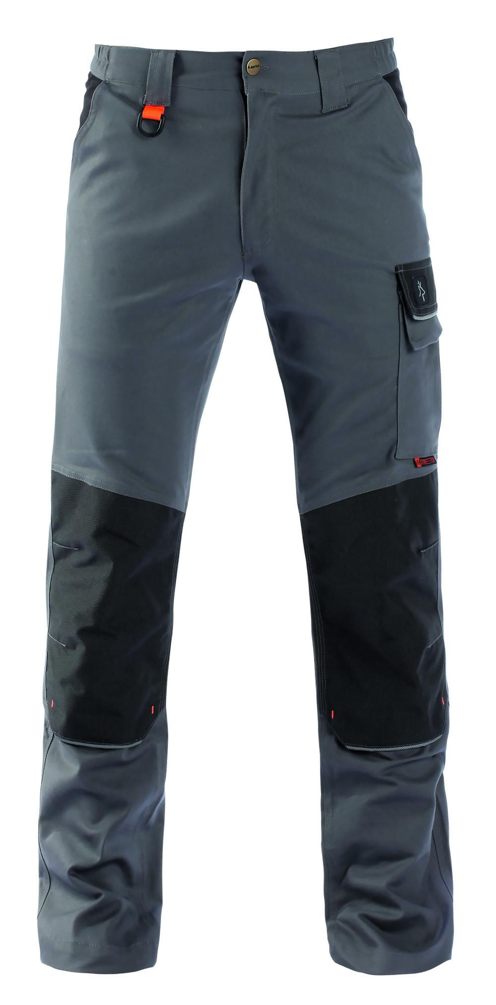 pracovní kalhoty pas KAPRIOL TENERE PRO šedo-černé - O203889