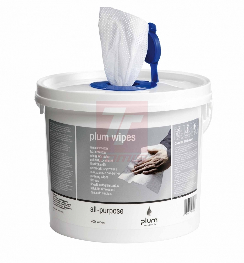 Utěrky PLUM WIPES 5332 - D500052