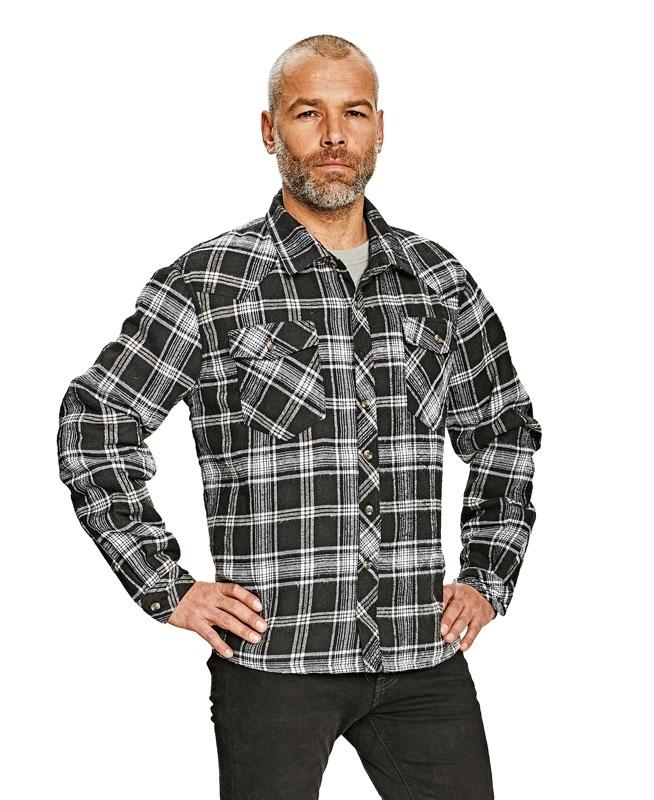 9480c1076b1 pracovní košile s podšívkou LEGGA - O202070