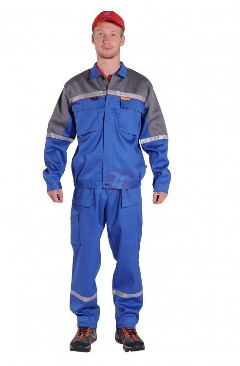 antistatický pracovní oděv GoodPRO JAKUB FR7 pas - 2686