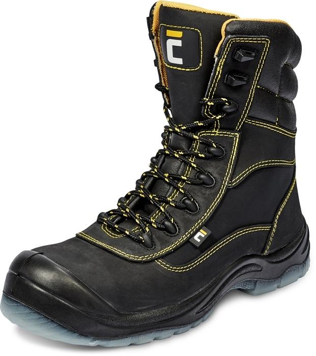 pracovní obuv zimní BK TPU MF S3 CI SRC poloholeňová - B300745