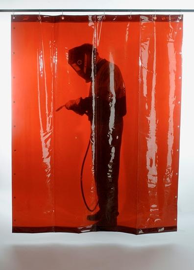 svařovací zástěna tmavě červená ESAB 1,8 x 1,4 m (DIN 6) - P400942