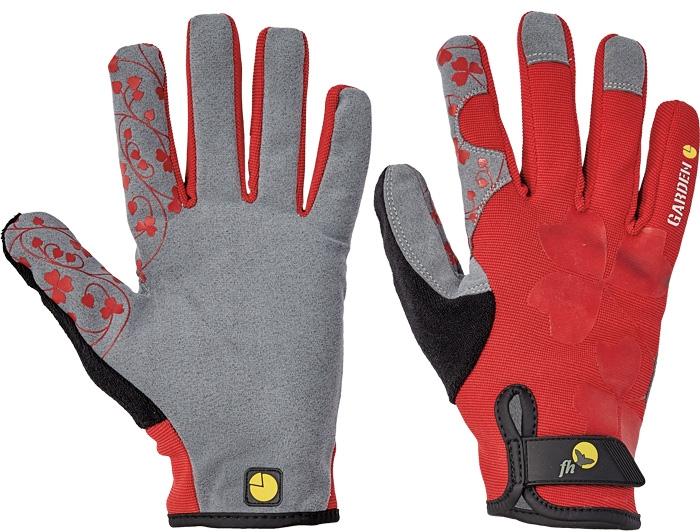 pracovní rukavice CRISTATA červené - 1403