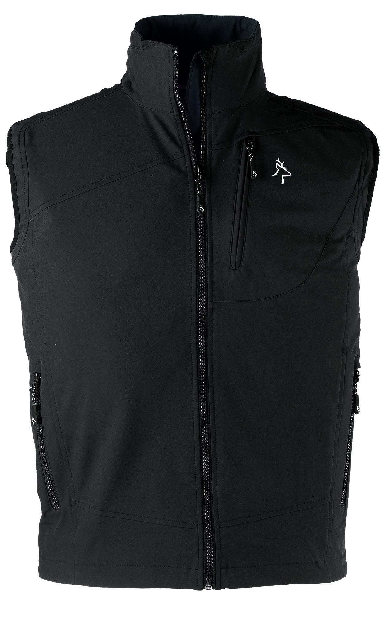 Pracovní softshellová vesta KAPRIOL TECH černá - O203891