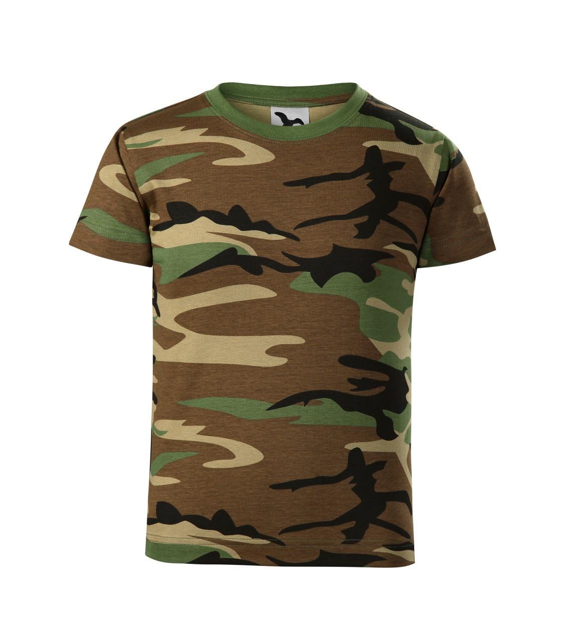 tričko CAMOUFLAGE dětské - O204060